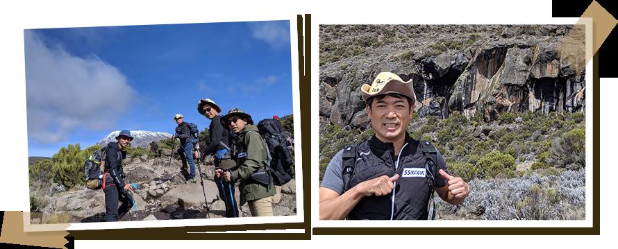 4日目、最終ベースキャンプがあるキボハット(4703m)へ出発。