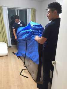 東京都江戸川区  大型ベッドマット移動のお手伝い
