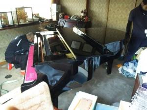 グランドピアノ搬出・回収