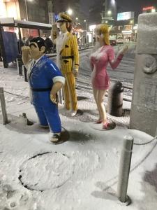 東京、大雪のお片付け!ヤバすぎます(–)