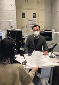 FM島田【イブニングJAMの元気人】に出演しました!