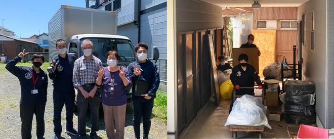 愛知県稲沢市  Y様 工場兼住居の不用品回収