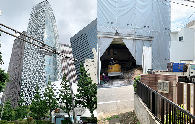 新宿区都庁近く!!2t約7台分のお片付け(><)